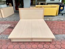 簡約白橡木色 標準雙人5尺床組雙人床架無破損有使用痕跡