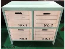 [全新] 88021109 雙色四抽櫃其它櫥櫃全新