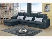 [全新] 艾琳L型灰色布沙發*可選左右向L型沙發全新
