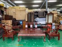 [9成新] 二手/中古 花梨木色客廳木組椅其它古董家具無破損有使用痕跡