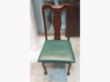 [7成新及以下] F41111*綠色皮餐椅*餐椅有明顯破損
