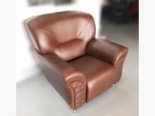 [全新] BN205*全新咖啡色單人皮沙發單人沙發全新