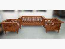 [8成新] 柚木113沙發組*客廳桌椅茶几有輕微破損