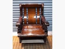 [8成新] 單人木製沙發木製沙發有輕微破損