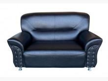 [全新] 黑色杰克雙人皮沙發單人沙發全新