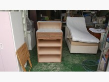 [8成新] 合運二手傢俱~木紋雙色櫃台其它櫥櫃有輕微破損