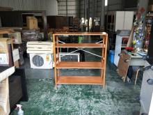 [8成新] 合運二手傢俱~實木四層架其它櫥櫃有輕微破損