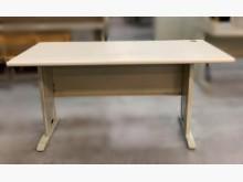 [7成新及以下] C2221*白面辦公桌*辦公桌有明顯破損