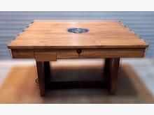 [8成新] 一洞火鍋桌餐桌有輕微破損