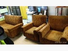 [8成新] 高級豪華絨布沙發椅 總統沙發椅多件沙發組有輕微破損