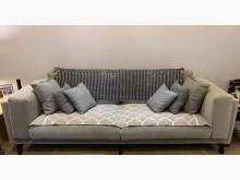 [9成新] IKEA 三人多人坐布沙發 灰色雙人沙發無破損有使用痕跡
