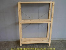 [9成新] 二手松木86公分三層置物架其它櫥櫃無破損有使用痕跡