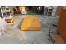 合運二手傢俱~木紋單人3.5床箱單人床架有輕微破損