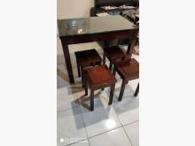 [9成新] 紅木一桌四椅桌子無破損有使用痕跡