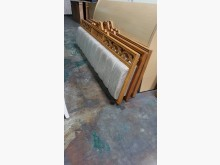 01613-6尺實木吊掛式床頭片其它寢具(飾)無破損有使用痕跡