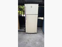 01672-東元雙門電冰箱冰箱無破損有使用痕跡