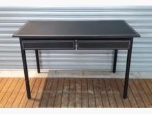 [8成新] 馬鞍皮書桌書桌/椅有輕微破損