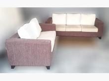 [8成新] 酒紅色3+2沙發多件沙發組有輕微破損