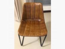 [9成新] 工業風復古皮製棒球餐椅書桌/椅無破損有使用痕跡