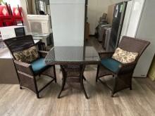吉田二手傢俱❤藤編庭院休閒桌椅組其它桌椅近乎全新