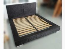 [9成新] 黑色5尺排骨床架雙人床架無破損有使用痕跡