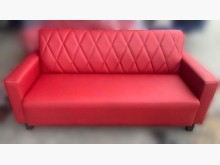 [全新] SX14DB*全新紅色3人皮沙發雙人沙發全新