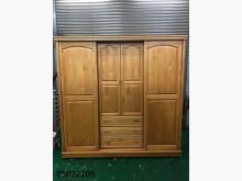 [9成新] 05022109 樟木色7尺衣櫃衣櫃/衣櫥無破損有使用痕跡