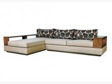 [9成新] 皇齊柚木L型沙發木製沙發無破損有使用痕跡