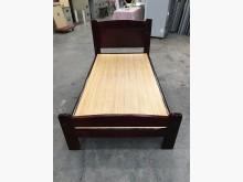 大慶二手家具 三尺半胡桃床架單人床架無破損有使用痕跡