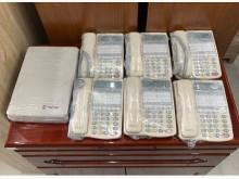 東訊電話總機系統/總機+話機其它電器近乎全新