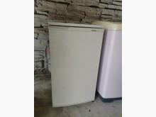 99公升單門小冰箱冰箱無破損有使用痕跡