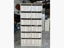 [9成新] 白橡色系統收納公文櫃收納櫃無破損有使用痕跡