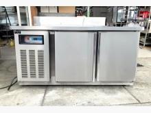 5尺工作台冷藏冰箱/全藏冰箱冰箱近乎全新