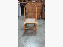 [9成新] 01687-藤椅其它桌椅無破損有使用痕跡