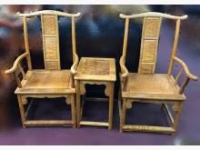 [全新] 金絲楠木公婆椅其它桌椅全新