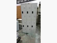 [9成新] 01735-鐵製6人內務櫃辦公櫥櫃無破損有使用痕跡