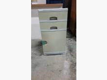 [9成新] 01738-三抽櫃收納櫃無破損有使用痕跡