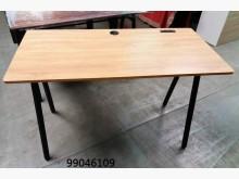 [全新] 99046109 橡木色事務桌辦公桌全新