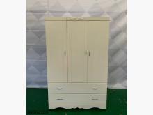 [9成新] 06002109 白色4尺衣櫃衣櫃/衣櫥無破損有使用痕跡