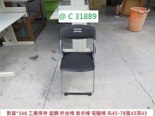 @C31889 黑 庫存 折合椅餐椅近乎全新