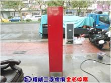 [9成新] 權威二手傢俱/紅色2格置物櫃辦公櫥櫃無破損有使用痕跡