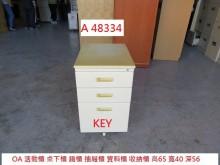 [7成新及以下] A48334 KEY 活動櫃辦公櫥櫃有明顯破損