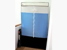 [8成新] 達新牌簡易組合式二層塑膠布衣櫃櫥衣櫃/衣櫥有輕微破損