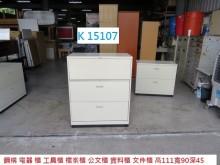 [8成新] K15107 理想櫃 鐵櫃辦公櫥櫃有輕微破損