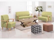 [全新] 2001671-A維也納綠皮沙發多件沙發組全新