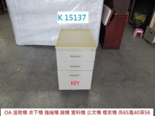 [7成新及以下] K15137 KEY 活動櫃辦公櫥櫃有明顯破損