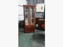 [9成新] 01787-實木櫥櫃收納櫃無破損有使用痕跡