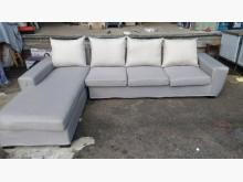 [9成新] 【尚典中古家具】米灰左L布沙發L型沙發無破損有使用痕跡