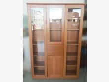 [8成新] B6037*木色書櫃*書櫃/書架有輕微破損