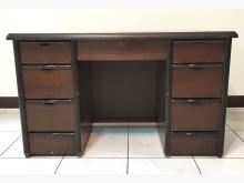 [7成新及以下] 二手胡桃色4尺辦公桌 桃園區免運辦公桌有明顯破損